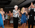Grandmothers dancing at wedding