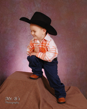 cowboy like dad, Bellevue Photography for kids