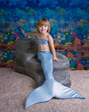 swim like a mermaid, childrens portraits