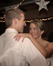 Bride & Groom dance for first time